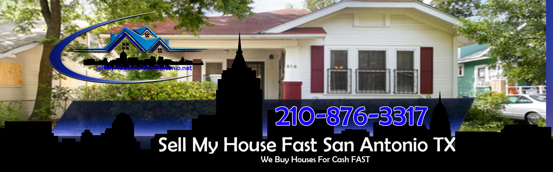 A San Antonio We Buy Houses image of a house where we can sell my house fast for cash in San Antonio